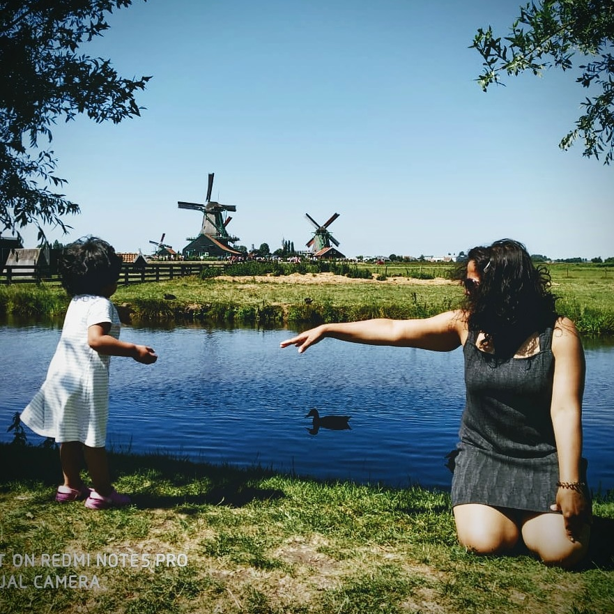 Zaanse Schans: The Windmill Village